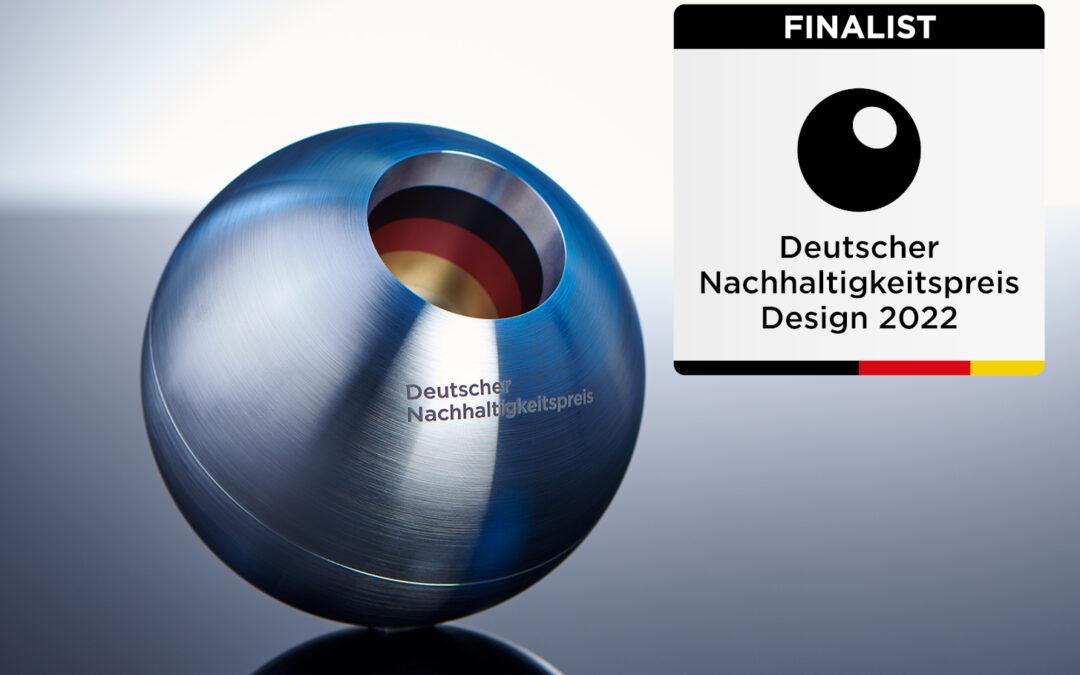 Einzug ins Finale! Vertiko beim Deutschen Nachhaltigkeitspreis Design 2022