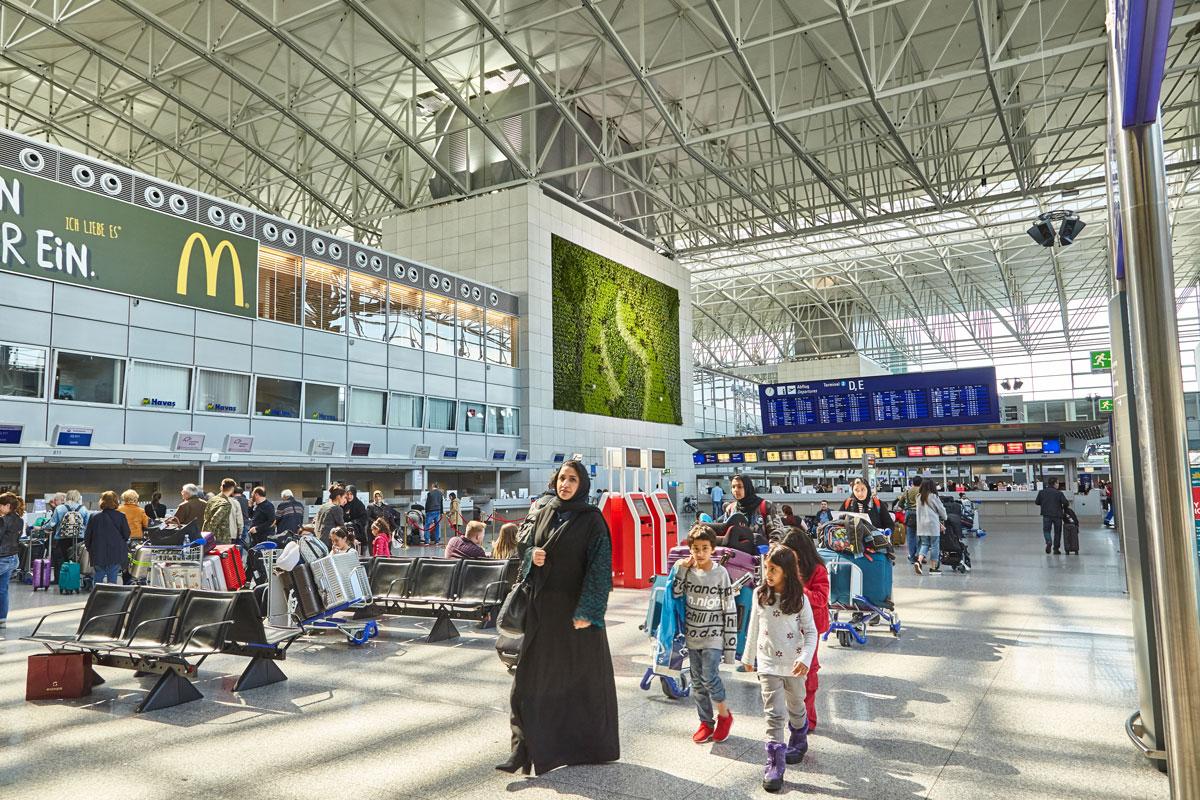 übersicht Frankfurt Flughafen
